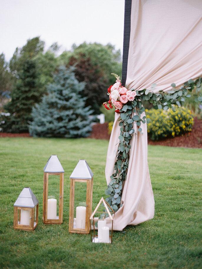 Altar de boda al aire libre - Brumley And Wells