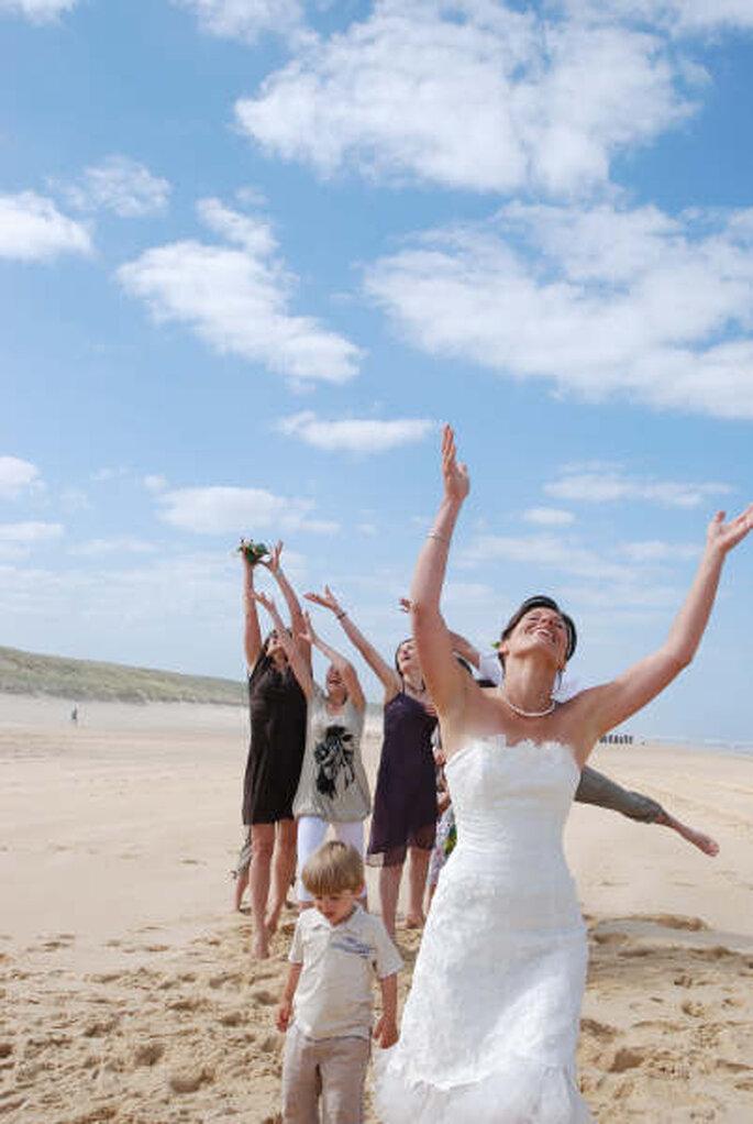 Cérémonie laïque sur la plage : un décor de rêve...