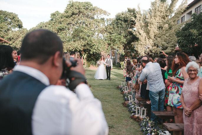 entrada da noiva casamento