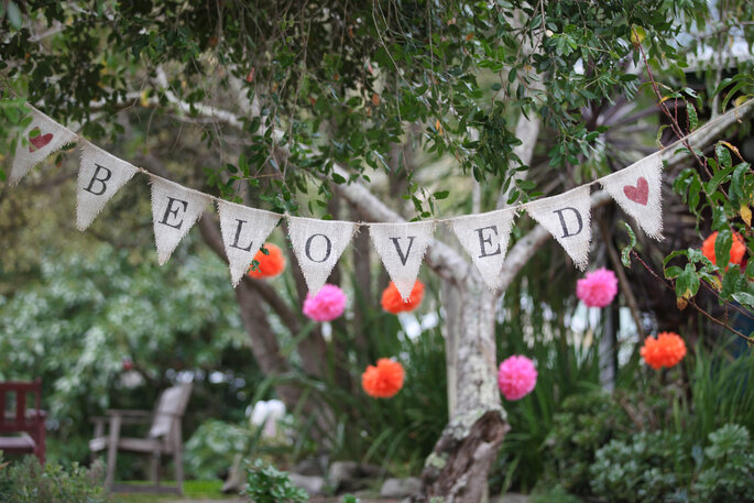 letrero para bodas