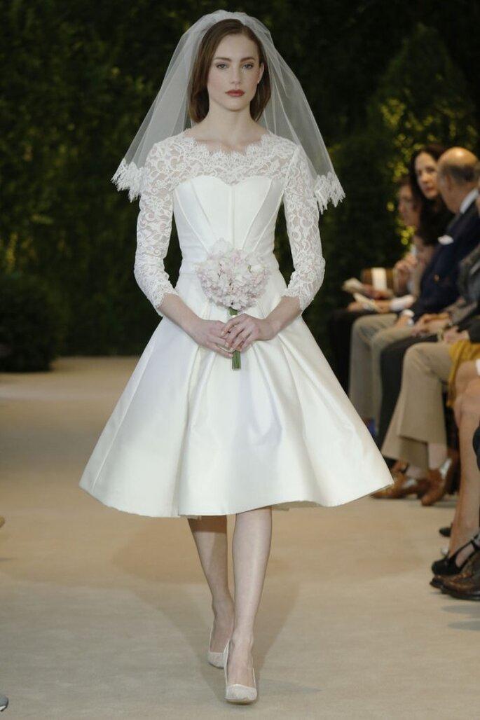 Robe de mariée Carolina Herrera 2014