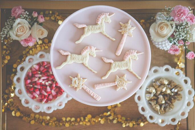 Cookies de unicórnio