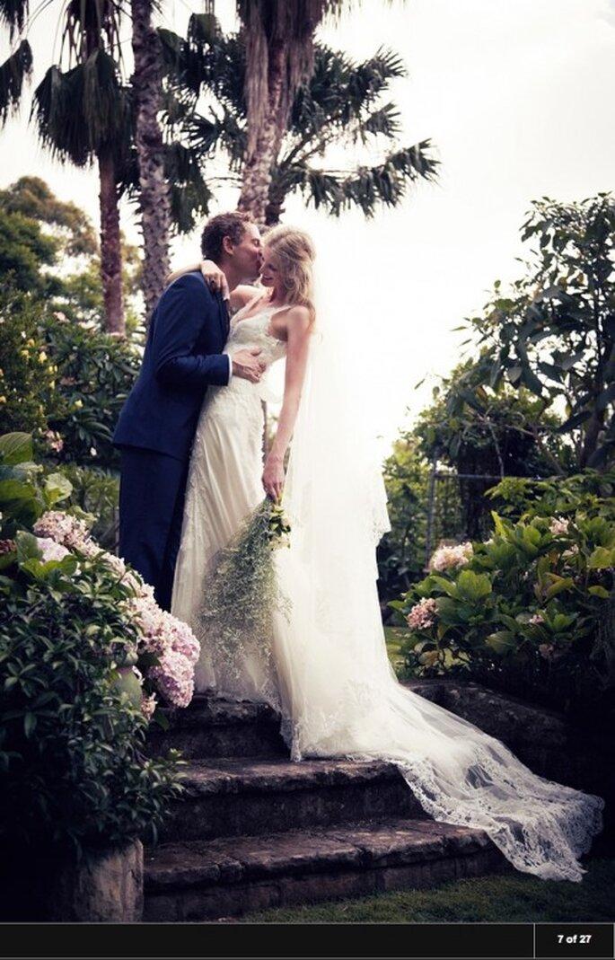 Vogue.com Casamento da modelo e blogueira Candice Lake e Didier Ryan, Austrália. Foto: Liz Ham