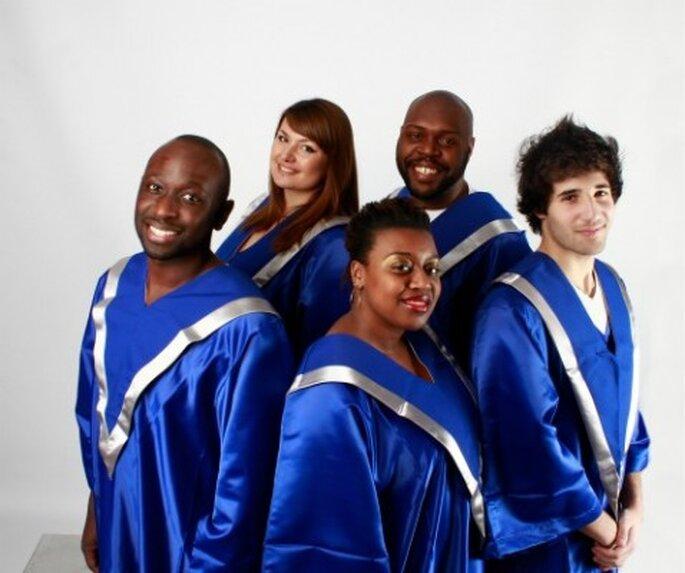 Des airs interprétés par une chorale de gospel : rien de plus émouvant ! - Photo : Gospellicious