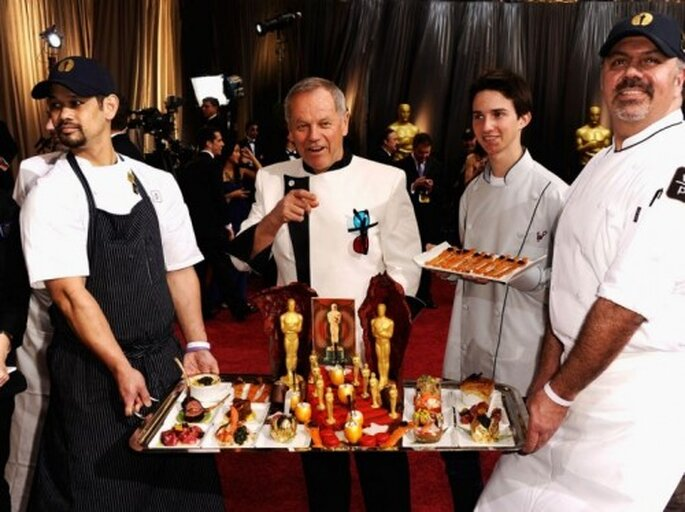 Chef a cargo del buffet en los Oscars 2013 - Foto Getty Images