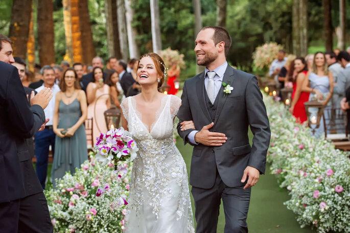 Noivos casamento FOCA