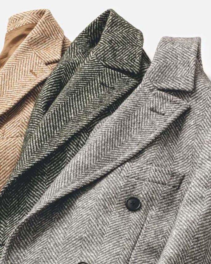 Mantel nach Mass Alferano verschiedene Farben und Muster