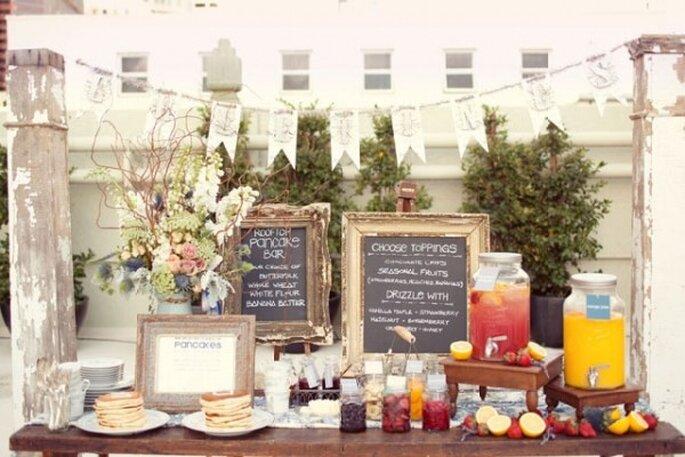 Brunch para tu boda - Foto Sarah Yates Photography