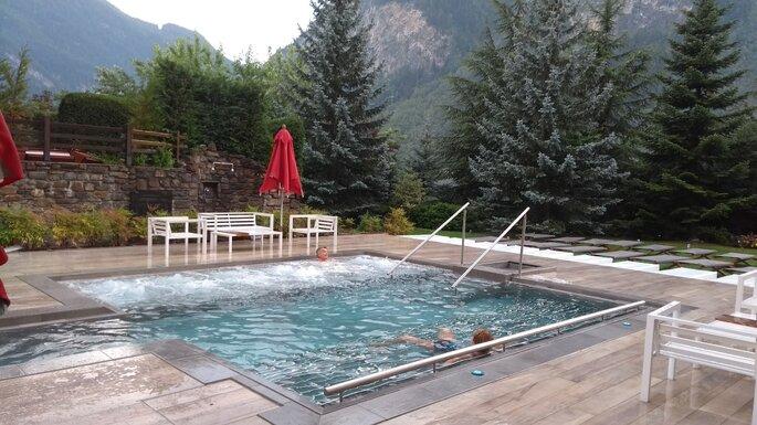 Un paio di ore di relax alle Terme dell'Hotel QC Terme Monte Bianco