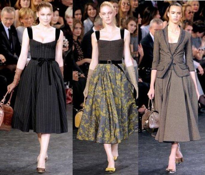 3 tendencias otoñales en vestidos de fiesta - Louis Vuitton