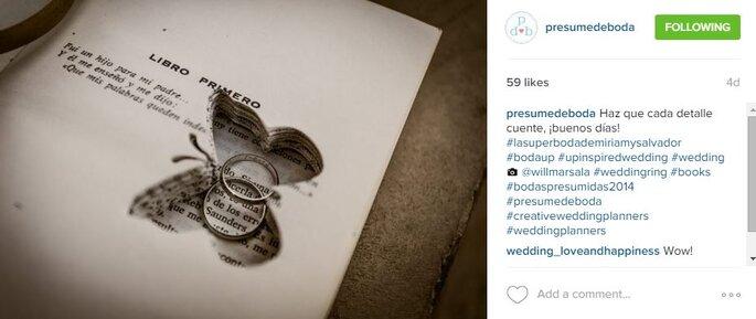 Foto: Instagram Presume de Boda.