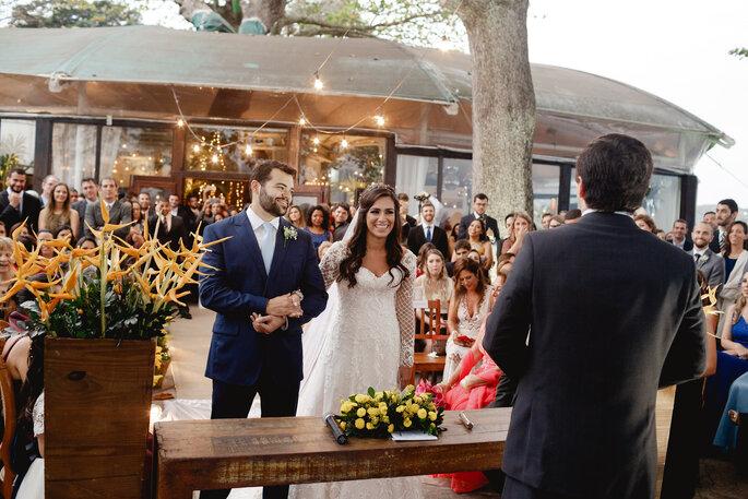 noivos cerimonia