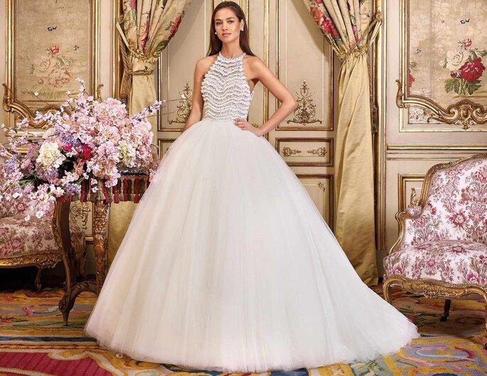 Vestidos de novia con falda voluminosa