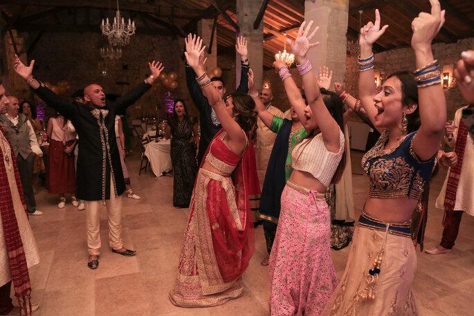 Une soirée de mariage battant son plein !