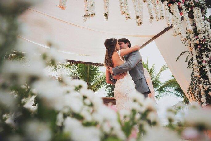 Beijo no altar