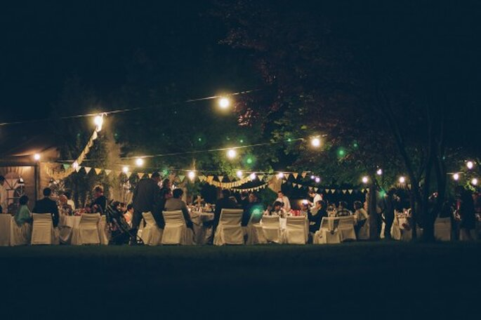 celebración boda pedraza farolillos