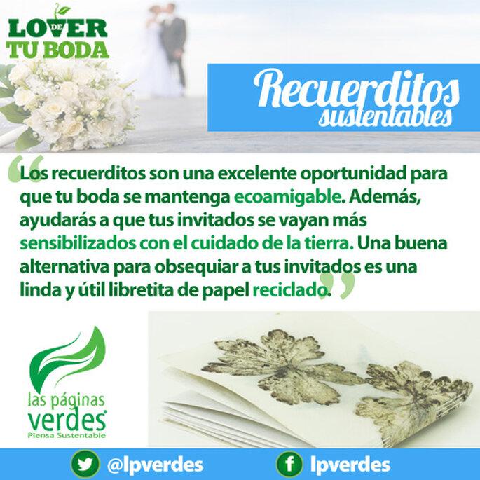 Recuerditos de boda ecológicos - Foto Las Páginas Verdes