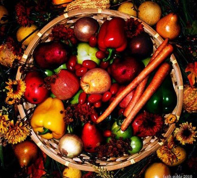 Las frutas y las verduras ofrecen bajo contenido calórico.   Foto:Faith Goble