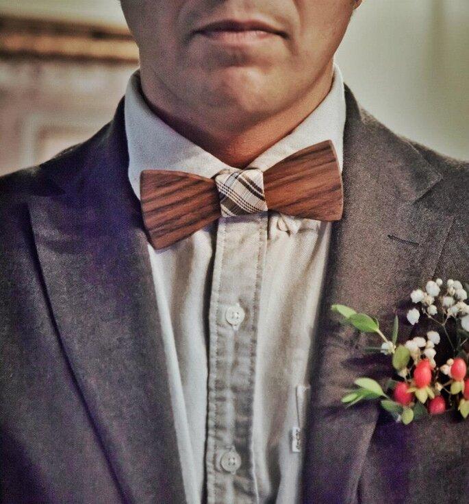 flores en el novio