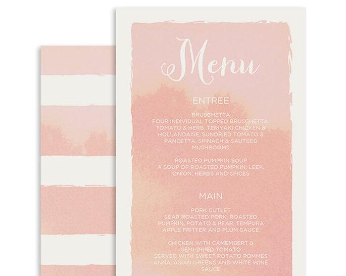 menu boda