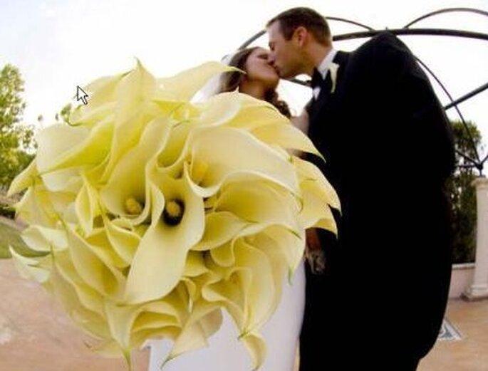 Ramos de novia enmarcados, una idea bien original