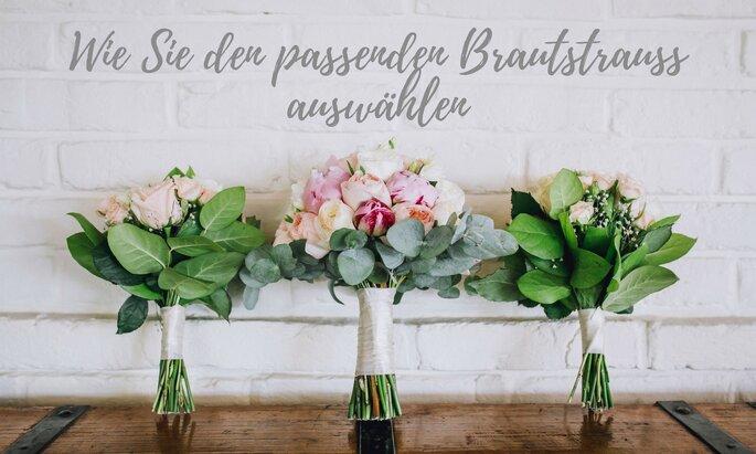 Wie Sie Den Passenden Brautstrauss Finden Blumen Fur Die Braut