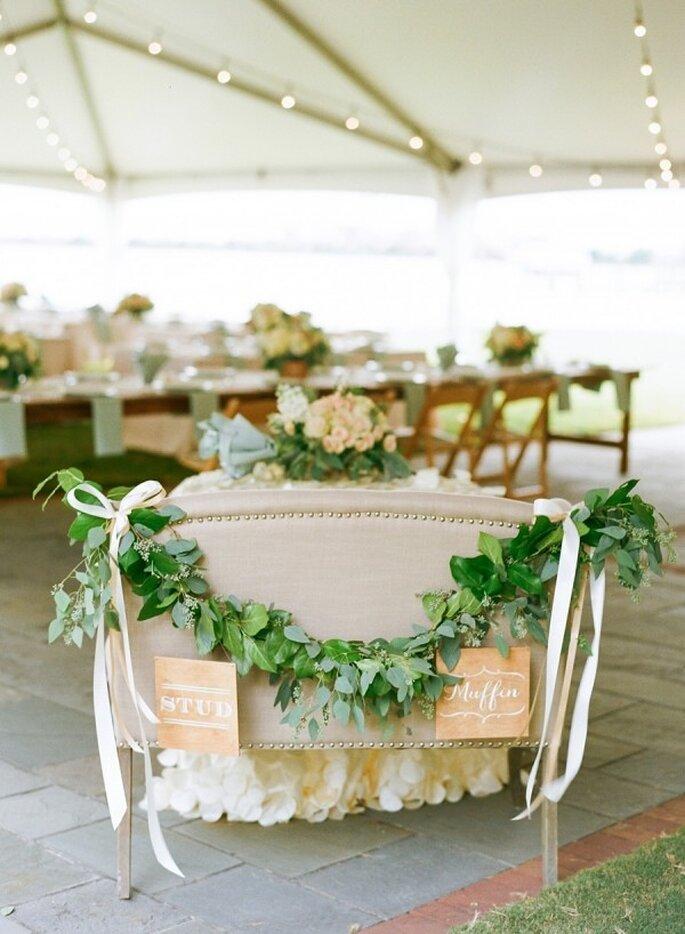 Los colores perfectos para decorar una boda en 2015 - Foto Jodi Miller Photography