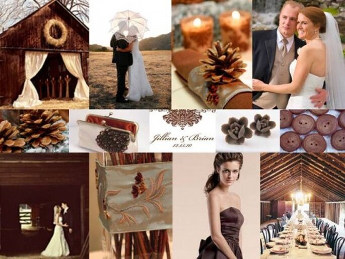 A Rustic Escape: Saying I do in the Mountains via The Perfect Palette