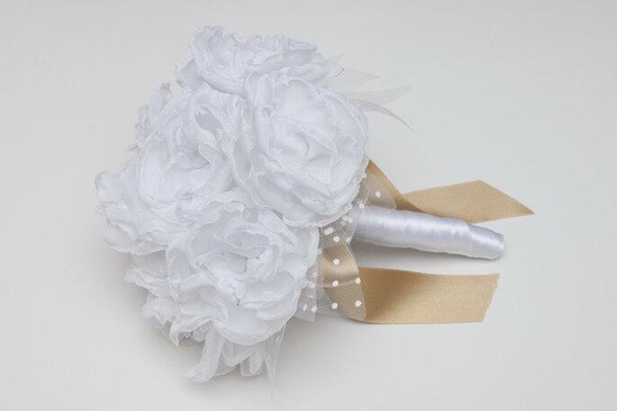 Bouquet de novia de gasa