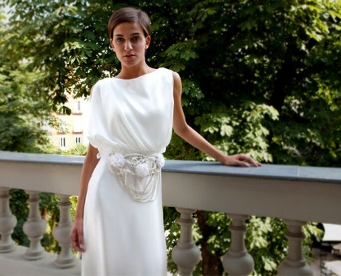 Vestidos de novia Chus Basaldua: 40º aniversario