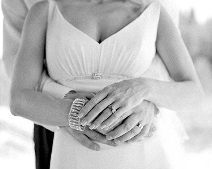 Un aumento de pecho antes de la boda para mejorar y realzar el escote. Foto: imagestock