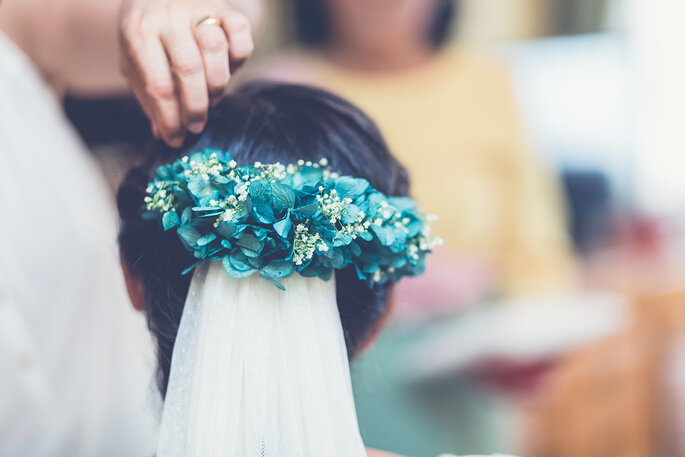 Peinado novia 2018