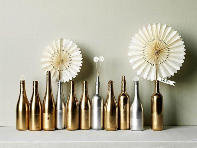 Kombinationen in Gold und Weiß sind besonders schön zur Vorweihnachtszeit – Foto: bhldn