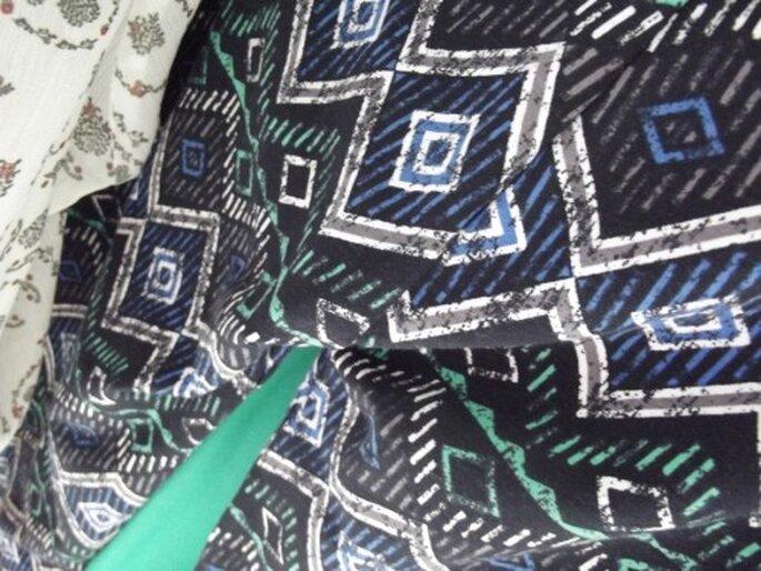 Pantalones y blusas con estampados en tendencia étnica - Foto Melissa Lara