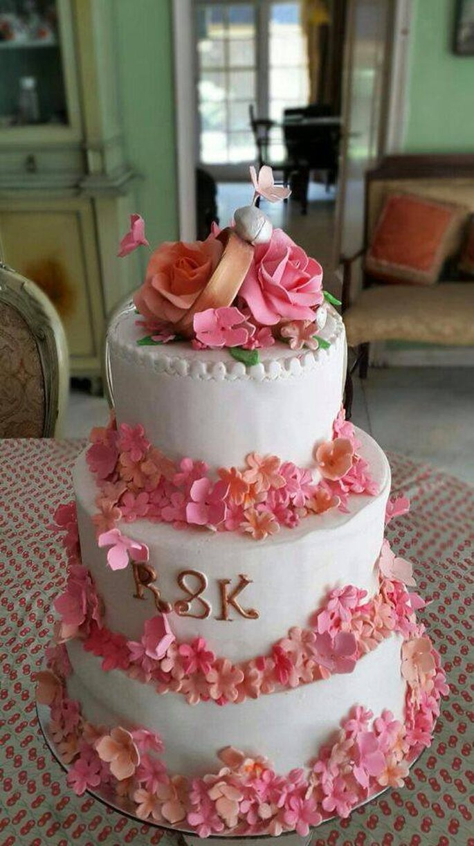 Photo: Exotic cakes and Desserts.