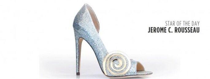 """Elegancia en las zapatillas de novia inspiradas en """"Oz"""" - Foto Jerome C. Rousseau"""