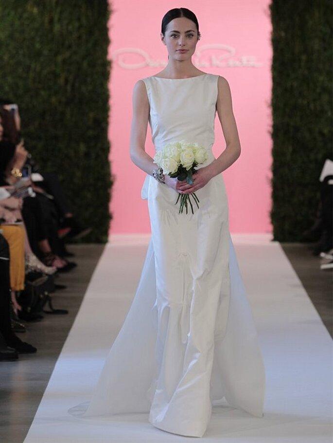 Oscar De La Renta 2015 krótka sukienka na ślub