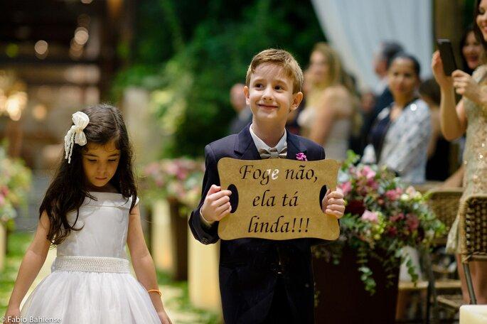 Um dos momentos mais marcantes para a noiva