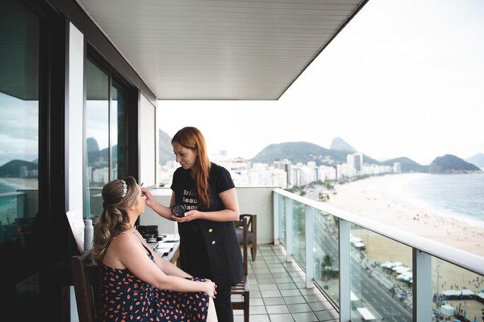 Cabelo e maquiagem da noiva: Manu Guerra Makeup - Foto: Peônia Fotografia e Cinema