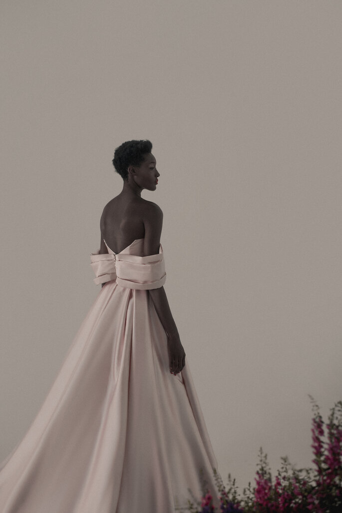 vestido de noiva rose