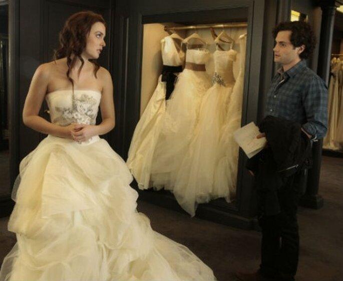 """""""La boda de Blair"""" un capítulo de """"Gossip Girl"""". Foto. Gossip Girl, CW,Warner Brothers"""