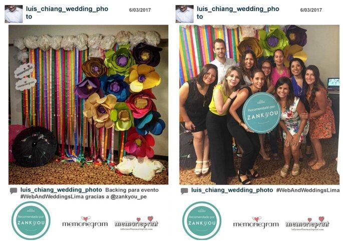 Luis Chiang Wedding Photo/ Instagram