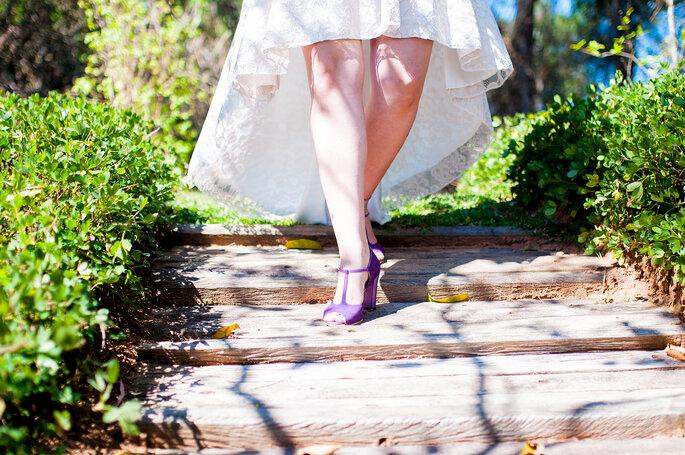 Caminhada noiva