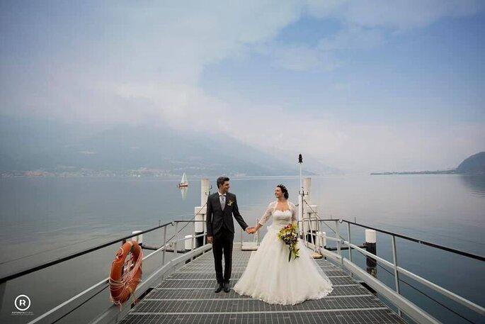 Ilaria Bosco - sposi sul molo