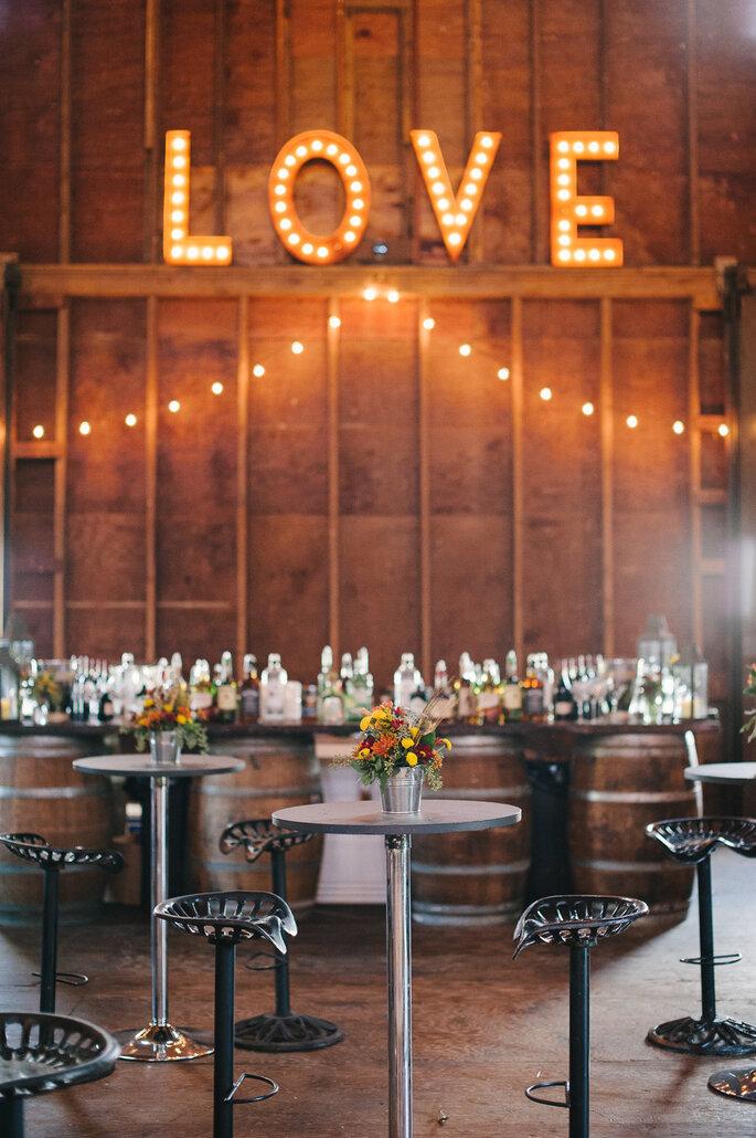 10 detalles para que tu recepción de boda sea la mejor - Brklyn View Photography vía Style Me Pretty