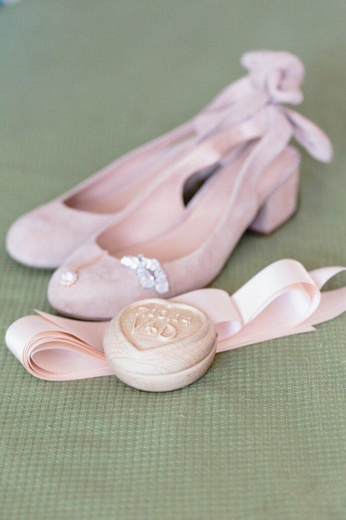 Flats para novias - Foto Nicole Wasko
