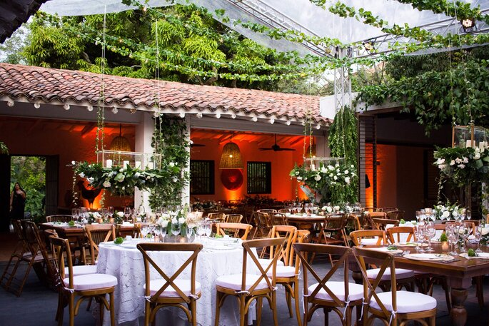 Hacienda Del Bosque Boda al aire libre