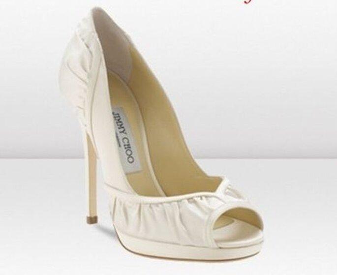 Toller Brautschuh, der zu vielen Hochzeitskleidern passt! - Jimmy Shoes Bridal Shoes 2013
