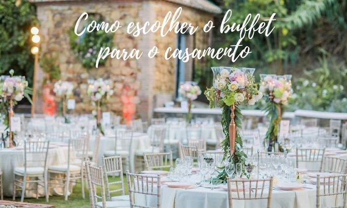 Como escolher o buffet do meu casamento