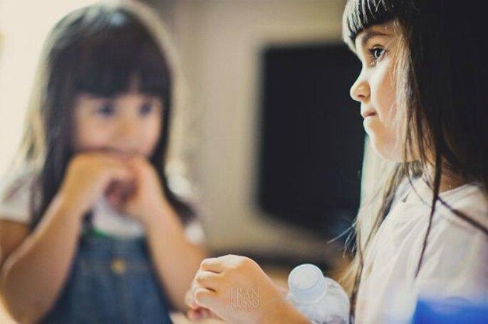 Enfants des mariés ou de leurs invités, il faut les gérer le Jour J ! - Photo : Fran Russo